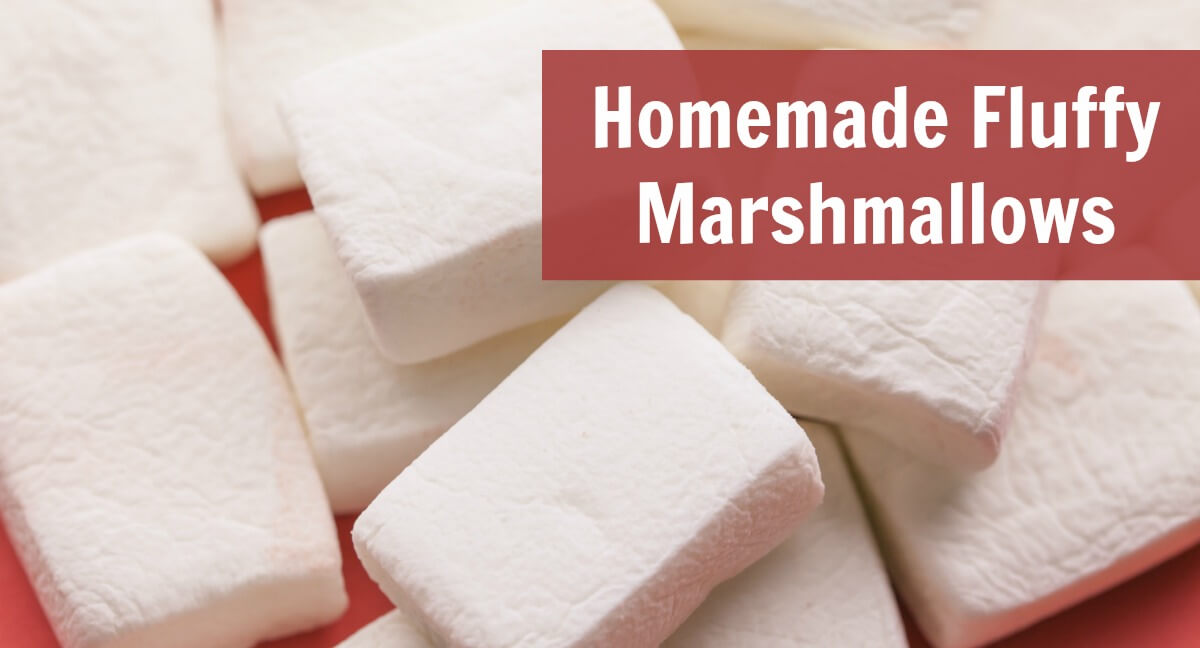 Homemade Fluffy Marshmallows Recipe