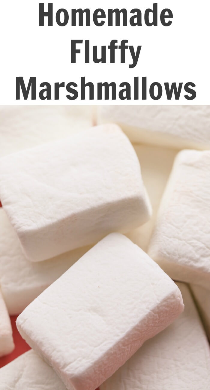 TOTS Family, Parenting, Kids, Food, Crafts, DIY and Travel Homemade-Fluffy-Marshmallows Fluffy Homemade Marshmallows Desserts Food Holiday Treats  recipe marshmallows hot chocolate homemade