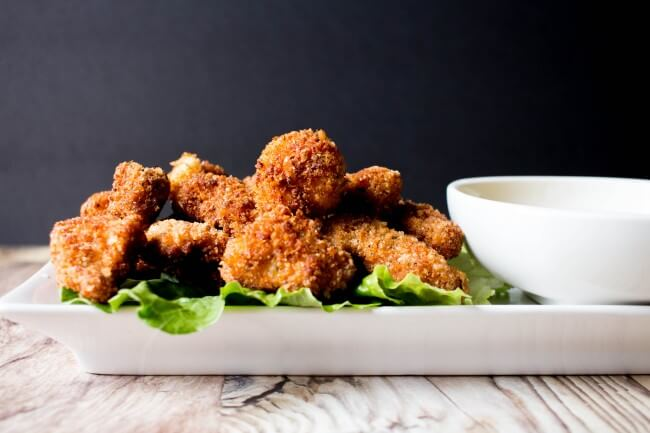 This Crispy Chicken Bites Recipe is so versatile.