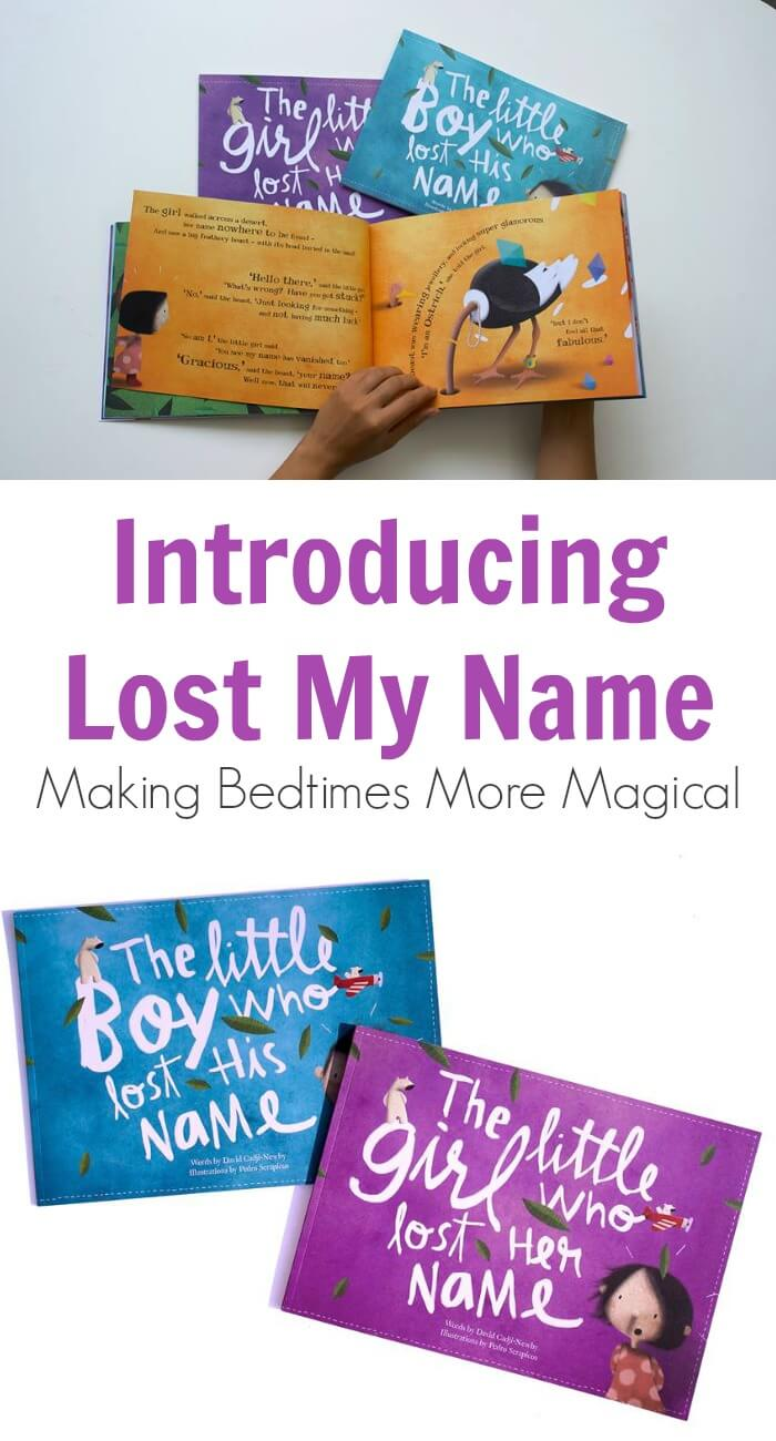 Introducing Lost My Name—Making Bedtimes More Magical