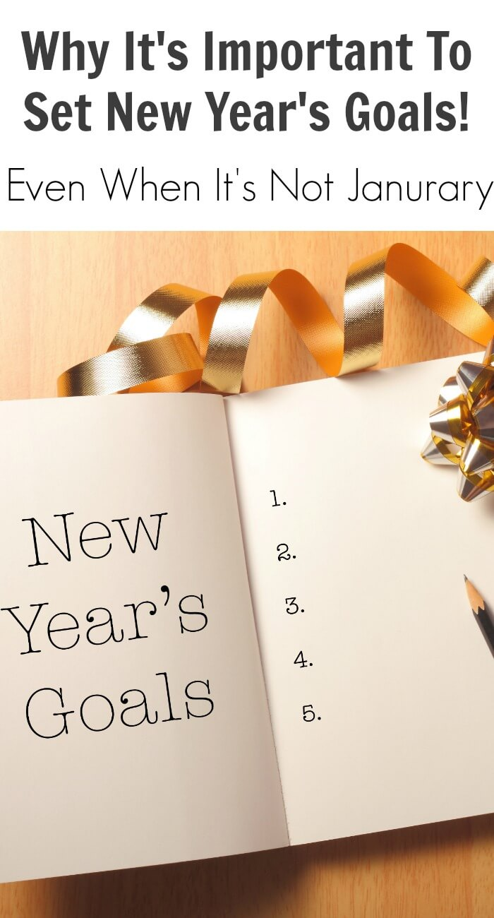 Why It's Important To Set New Year's Goals!