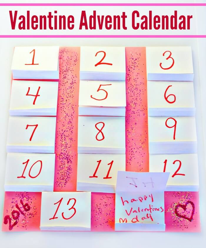 Try This Simple Valentine Advent Calendar
