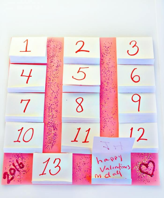 TOTS Family, Parenting, Kids, Food, Crafts, DIY and Travel advent-no-text- Fun Valentine Advent Calendar Crafts Kids TOTS Family  valentines day craft advent calendar
