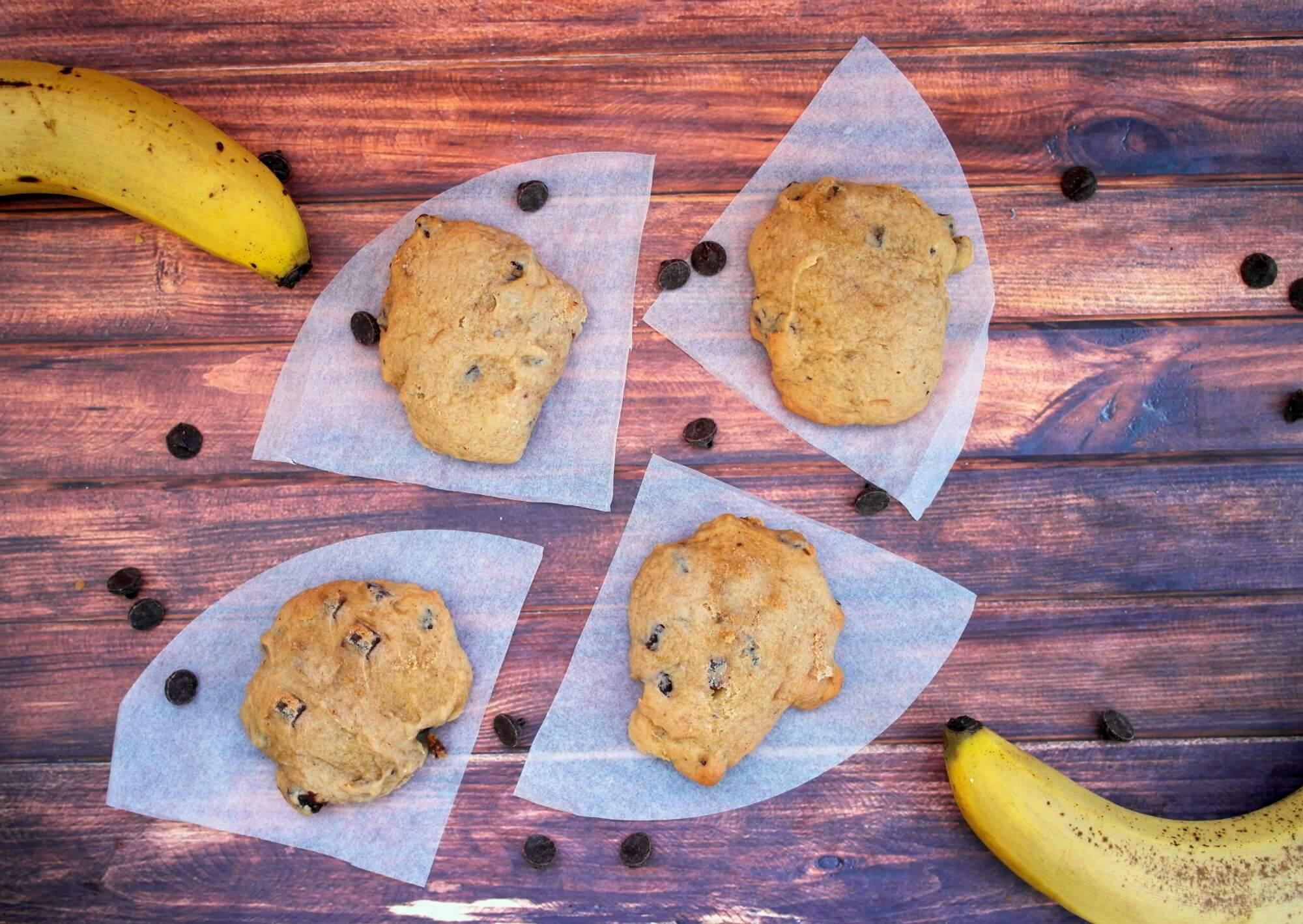 TOTS Family, Parenting, Kids, Food, Crafts, DIY and Travel banana-chip-final-horiz Low Fat Semi Homemade Banana Chip Cookies Desserts Food TOTS Family  cookies chocolate chip cookies