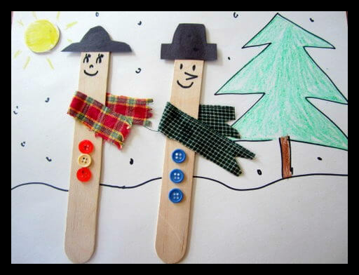 TOTS Family, Parenting, Kids, Food, Crafts, DIY and Travel craft1 Simple Winter Crafts for Young Children Crafts Homeschooling Kids Learning TOTS Family Uncategorized  winter craft winter activities kid craft