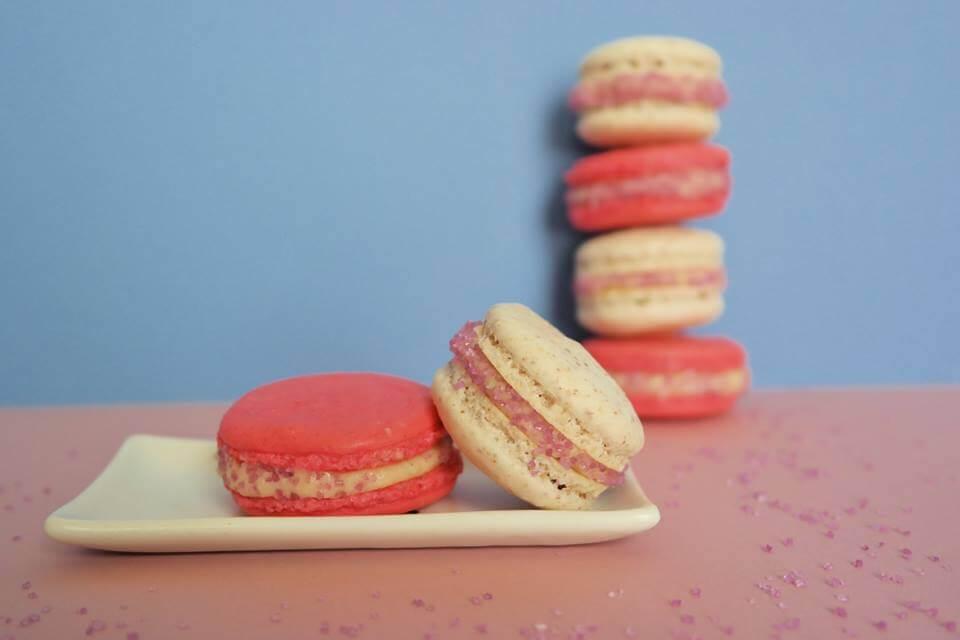 Macarons With Vanilla Bean Filling