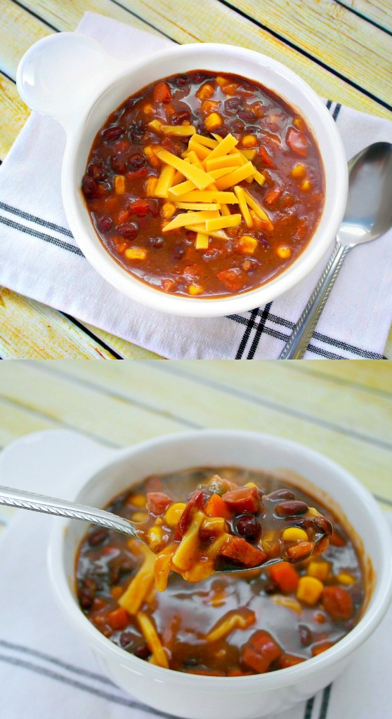 TOTS Family, Parenting, Kids, Food, Crafts, DIY and Travel mex-chili-pin-no-text--558x1024 Mexican Black Bean Chili Food Main Dish TOTS Family  recipe chili