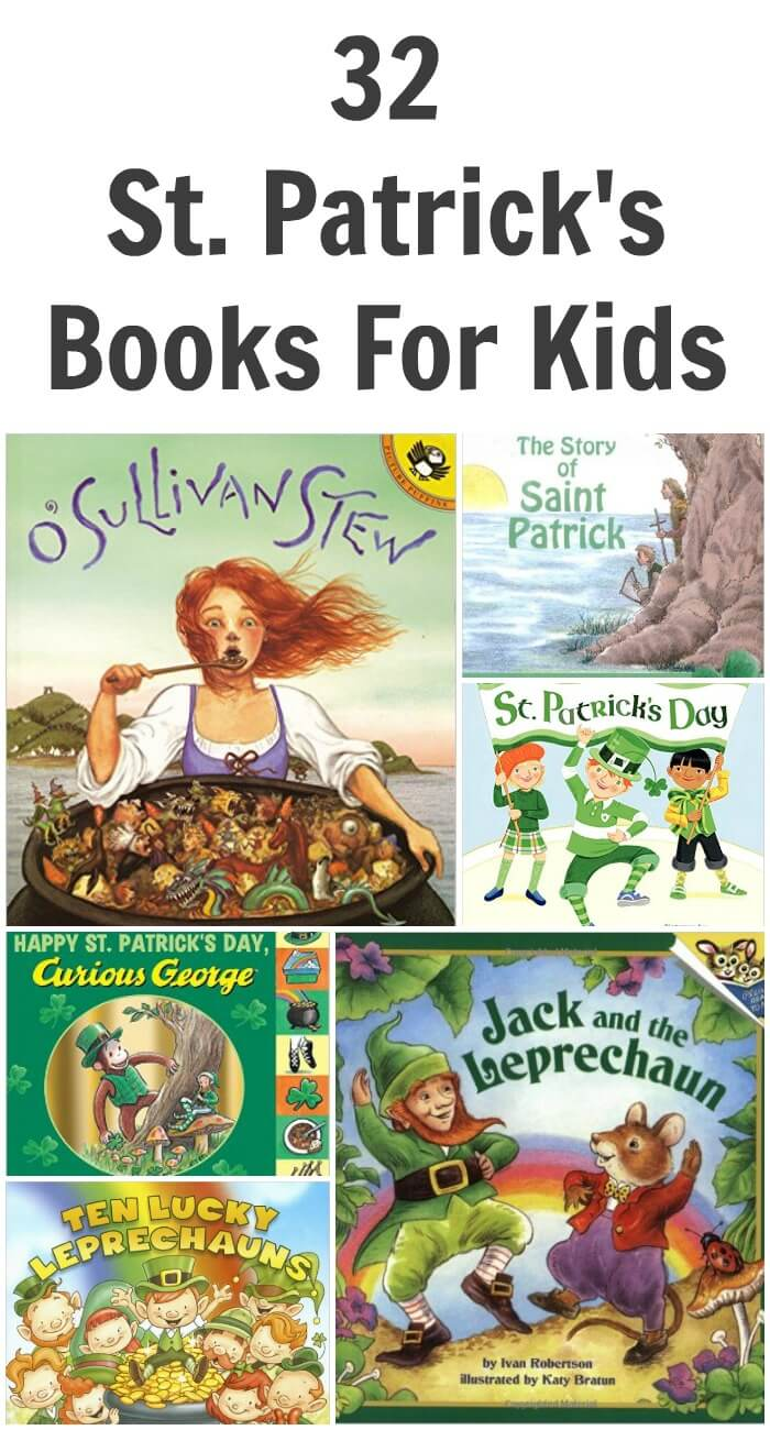 TOTS Family, Parenting, Kids, Food, Crafts, DIY and Travel 32-St.-Patricks-Books-For-Kids 32 St. Patrick's Day Books for Kids Kids Learning TOTS Family  St. Patrick's Day books for kids