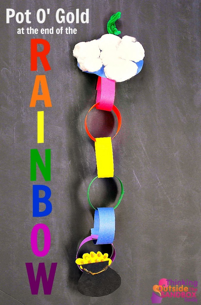 TOTS Family, Parenting, Kids, Food, Crafts, DIY and Travel RAINBOW-final--676x1024 Pot Of Gold Rainbow Craft Crafts Kids TOTS Family  St. Patrick's Day kids craft