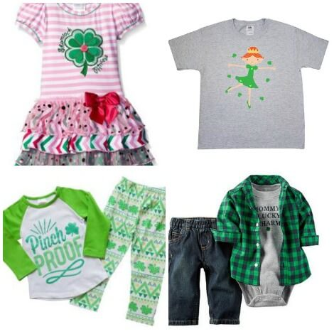Cutest St. Patrick's Day Clothing For Kids