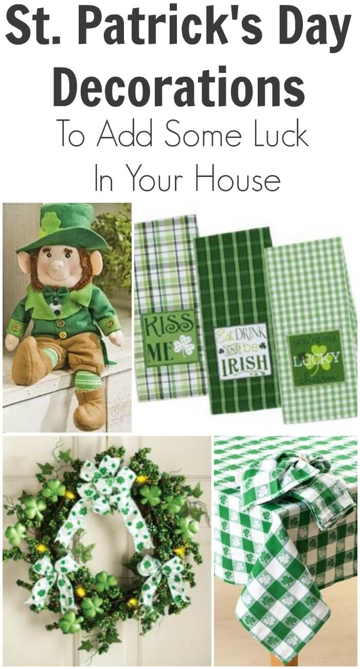 TOTS Family, Parenting, Kids, Food, Crafts, DIY and Travel St.-Patricks-Day-Decorations-To-Add-Some-Luck-In-Your-House St. Patrick's Day Decorations to Add Some Luck in Your House Home TOTS Family  St. Patrick's Day home