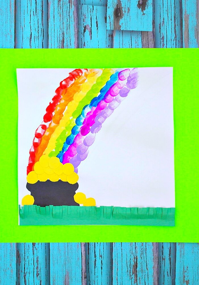 TOTS Family, Parenting, Kids, Food, Crafts, DIY and Travel rainbow-final-vertical-700 Thumbprint Rainbow St.Patrick's Day Craft Crafts TOTS Family  St. Patrick's Day kids craft