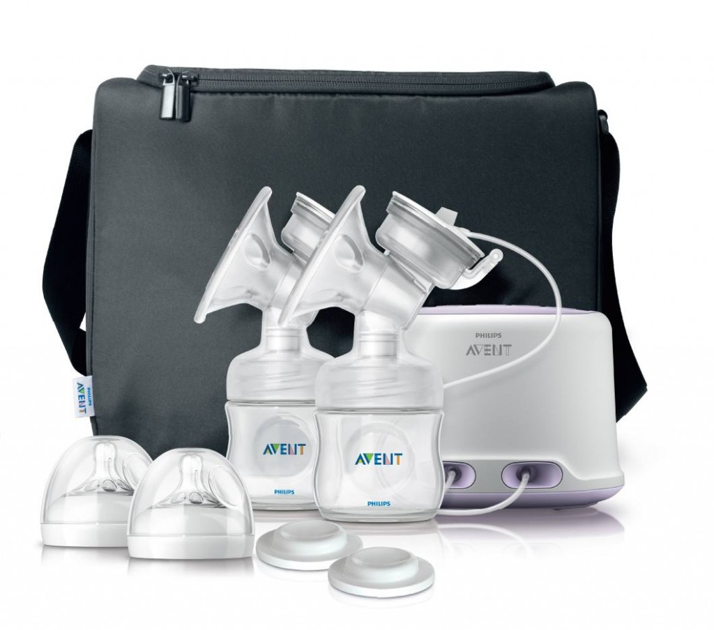 New Mommy Solutions: Avent Comfort Double Electric Breast Pump