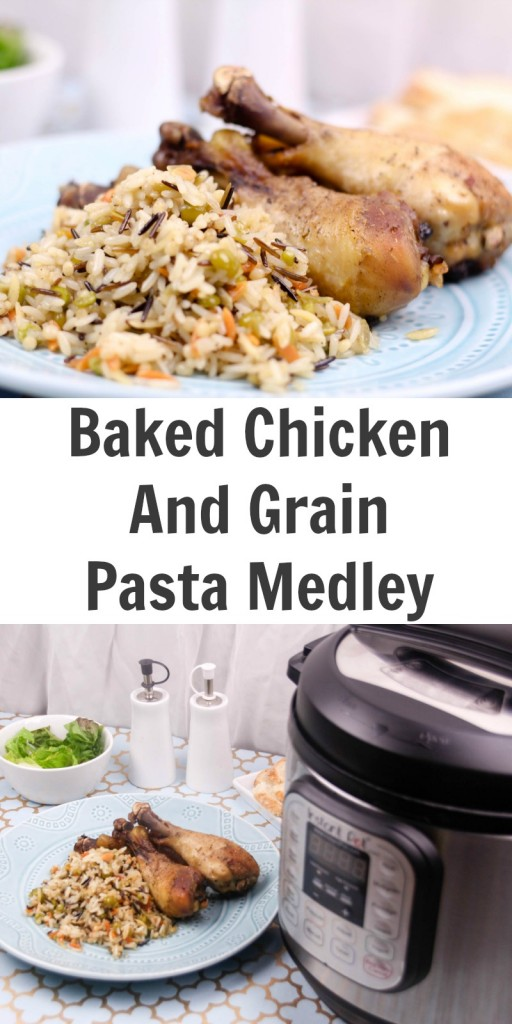 TOTS Family, Parenting, Kids, Food, Crafts, DIY and Travel Baked-Chicken-Grain-Medley-512x1024 Baked Chicken & Grain Pasta Medley Food Main Dish TOTS Family  recipe main dish chicken