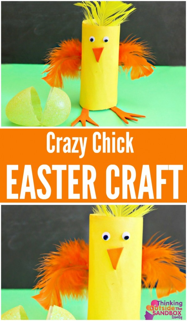 TOTS Family, Parenting, Kids, Food, Crafts, DIY and Travel CHICK-PIN-597x1024 Crazy Easy Easter Craft The You Can Make Today Crafts Kids TOTS Family Uncategorized  easter craft