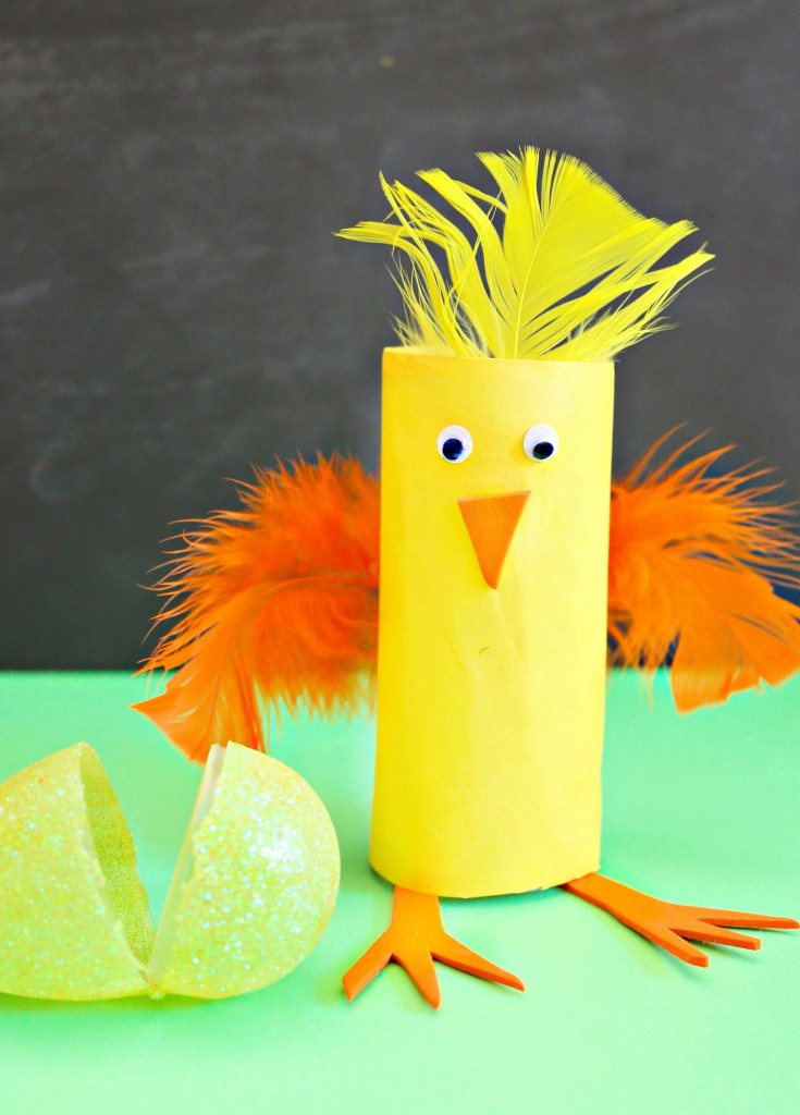 Create a fun new Easter tradition with this crazy Easy Easter Craft.