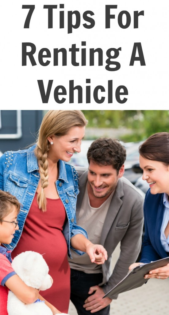 7 Tips For Renting A Vehicle