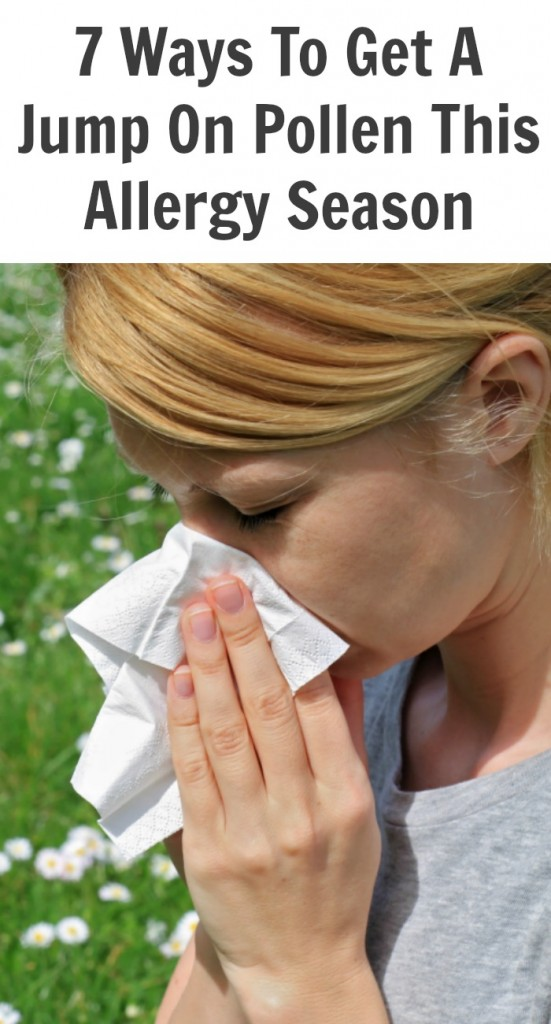 Get A Jump On Pollen This Allergy Season