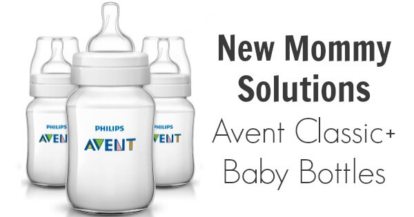 New Mommy Solutions: Avent Classic+ Baby Bottles