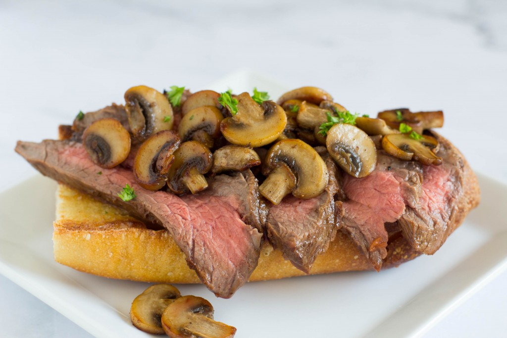 TOTS Family, Parenting, Kids, Food, Crafts, DIY and Travel IMG_1845-1024x683 Open Face Steak Sandwich with Sauteed Mushrooms Food Main Dish TOTS Family  Steak Sandwich Sauteed Mushrooms sandwich recipe food