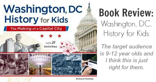 TOTS Family, Parenting, Kids, Food, Crafts, DIY and Travel Washington-DC-History-for-Kids Book Review: Washington, DC, History for Kids Kids Parenting TOTS Family  washington dc richard panchyk history chicago review press