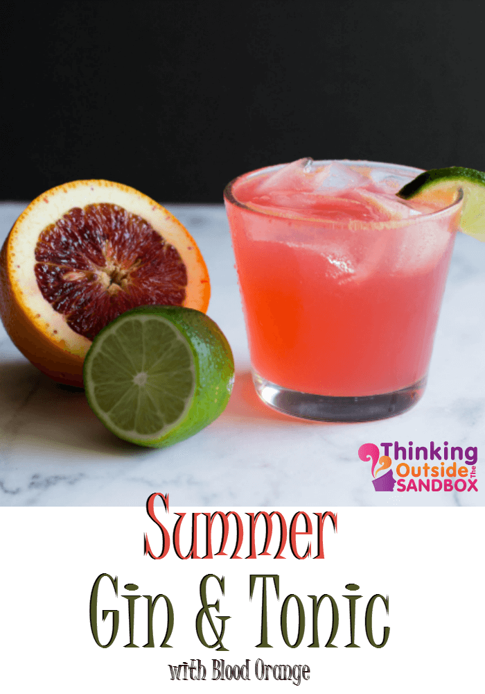 TOTS Family, Parenting, Kids, Food, Crafts, DIY and Travel With-a-Twist Summer Gin And Tonic Recipe Drinks Food Miscellaneous Recipes TOTS Family  Summer Drink recipe Gin and Tonic drink