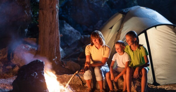 Summer Outdoor Activities For Families - Night