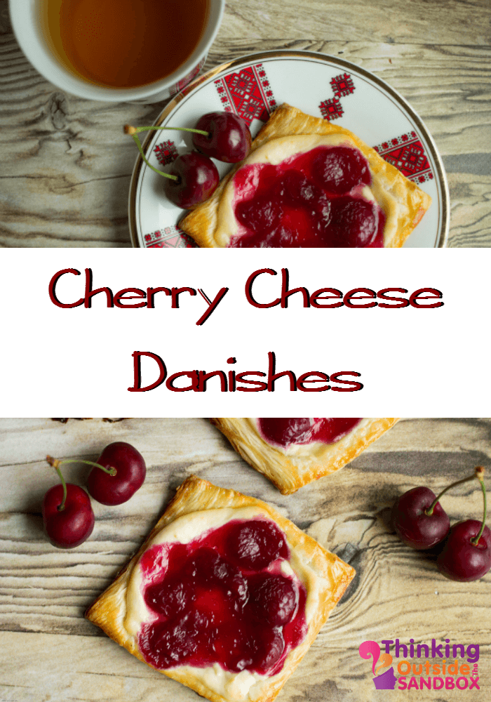 Cherry Cheese Danishes
