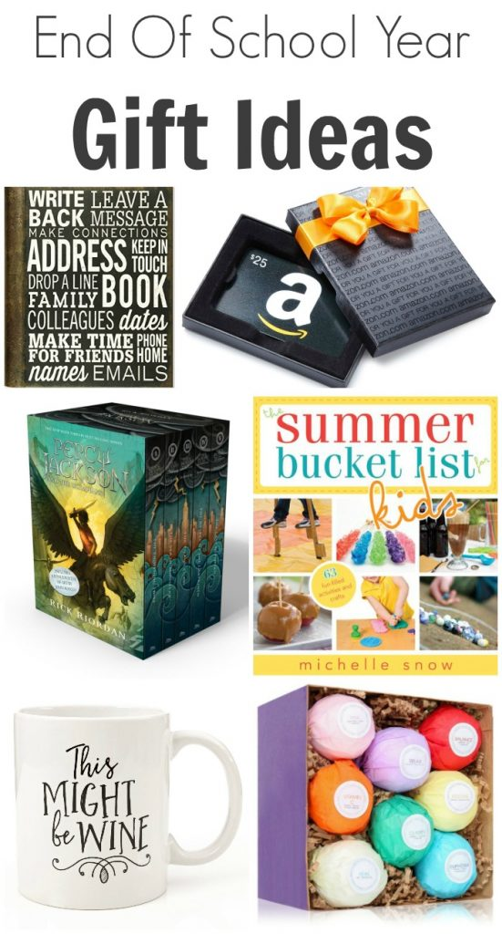 End Of School Year Gift Ideas
