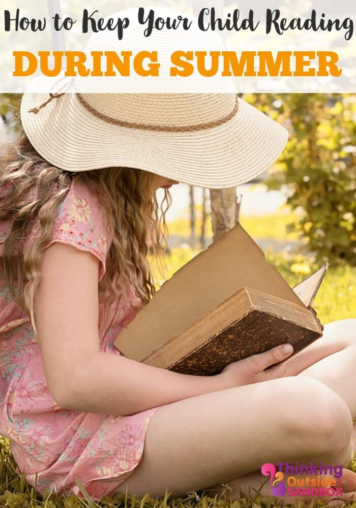 How to Keep Your Child Reading During Summer
