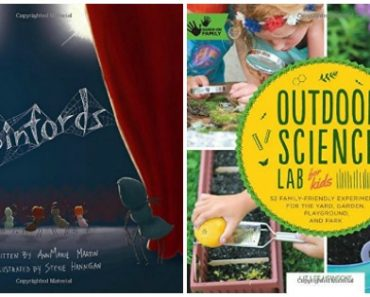 New Books for June: Outdoor Science Lab for Kids, The Spinfords