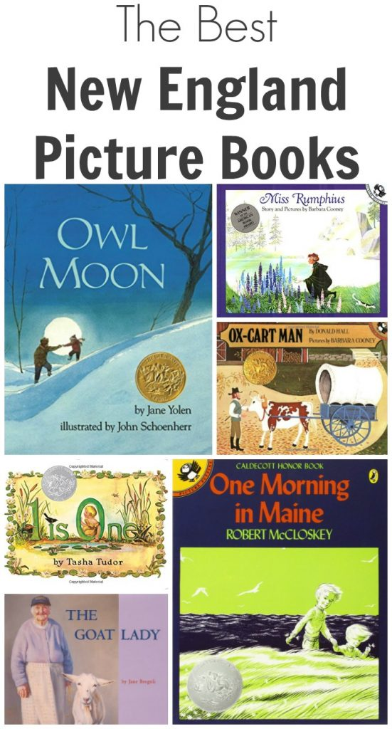 The Best New England Picture Books