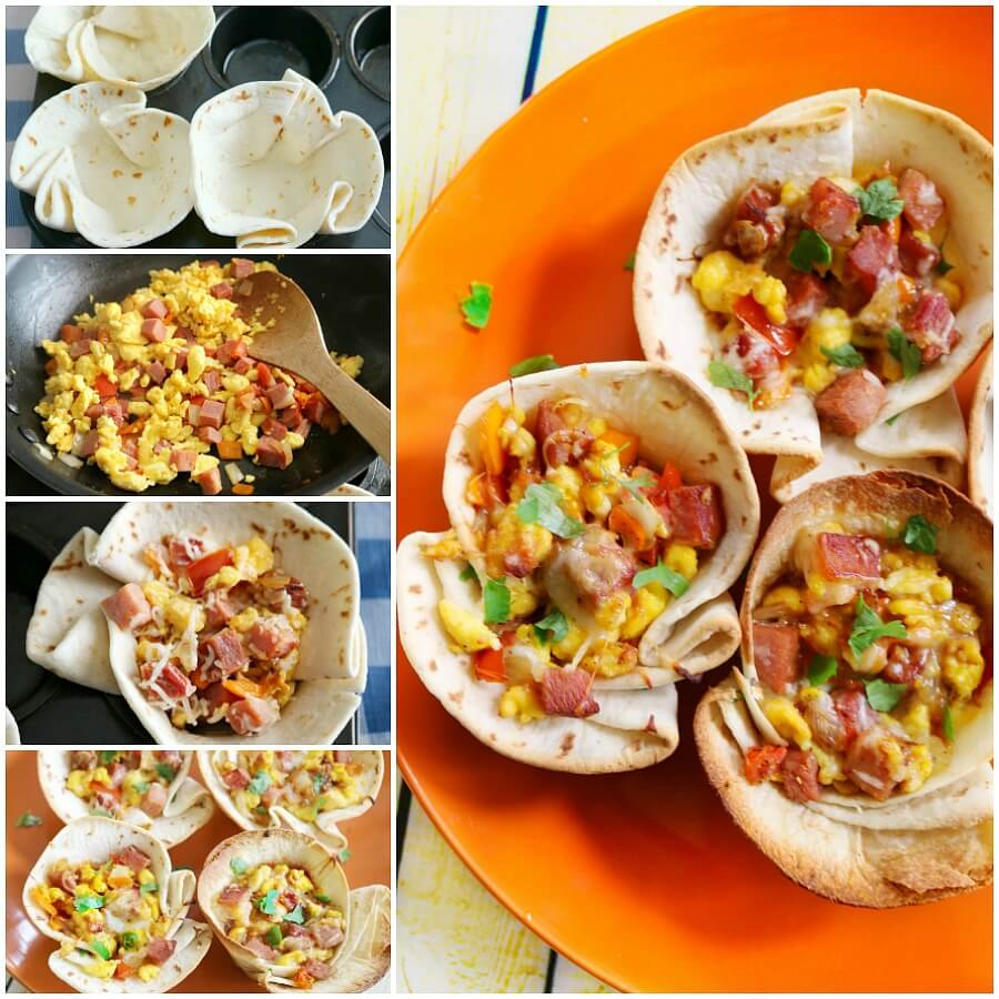 TOTS Family, Parenting, Kids, Food, Crafts, DIY and Travel breakfast-bowls-fb-collage Cheesy Breakfast Burrito Bowl Recipe Breakfast Food Miscellaneous Recipes TOTS Family Uncategorized  recipe food Burrito breakfast