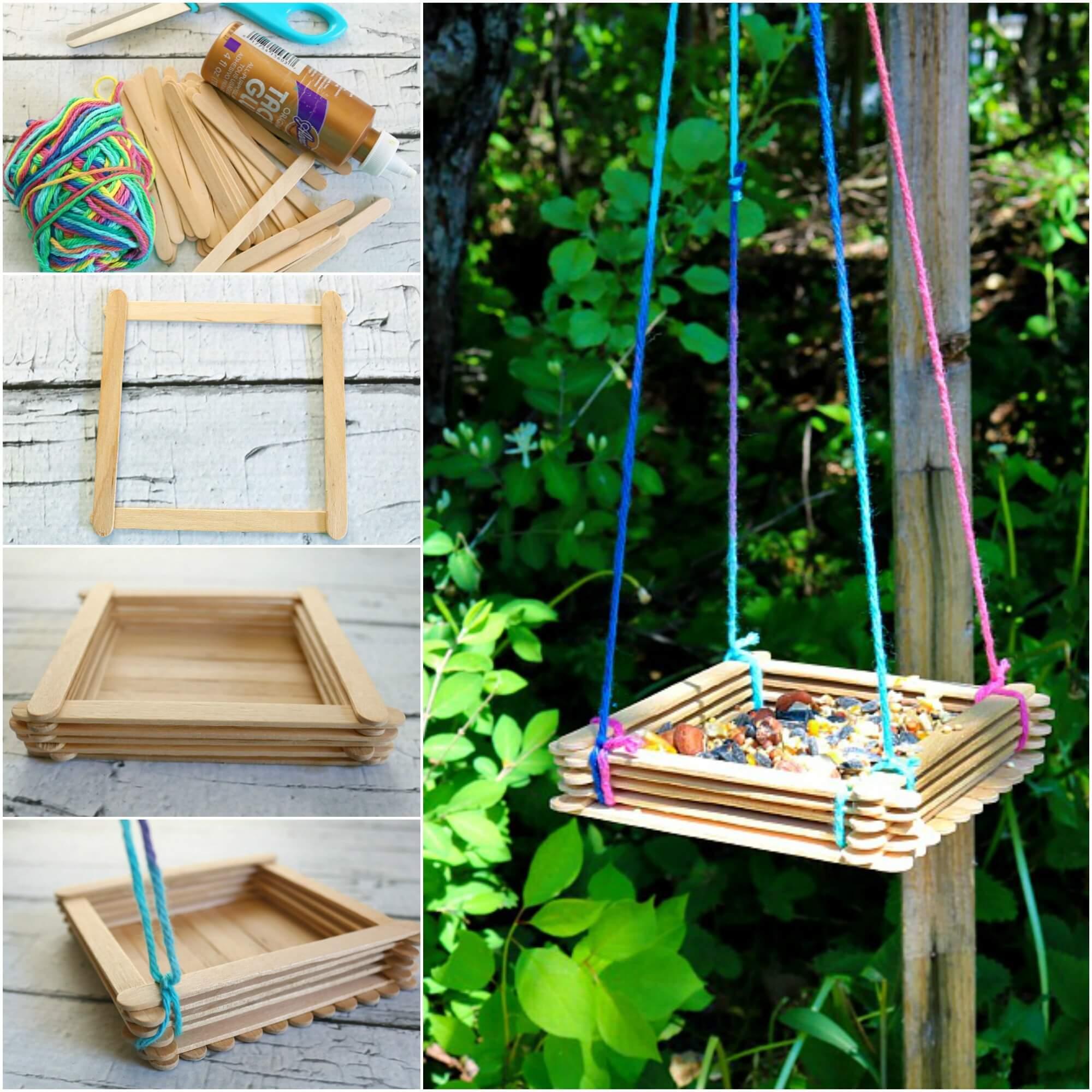Bird Feeder Craft para los niños - Woo! Jr. Actividades para niños