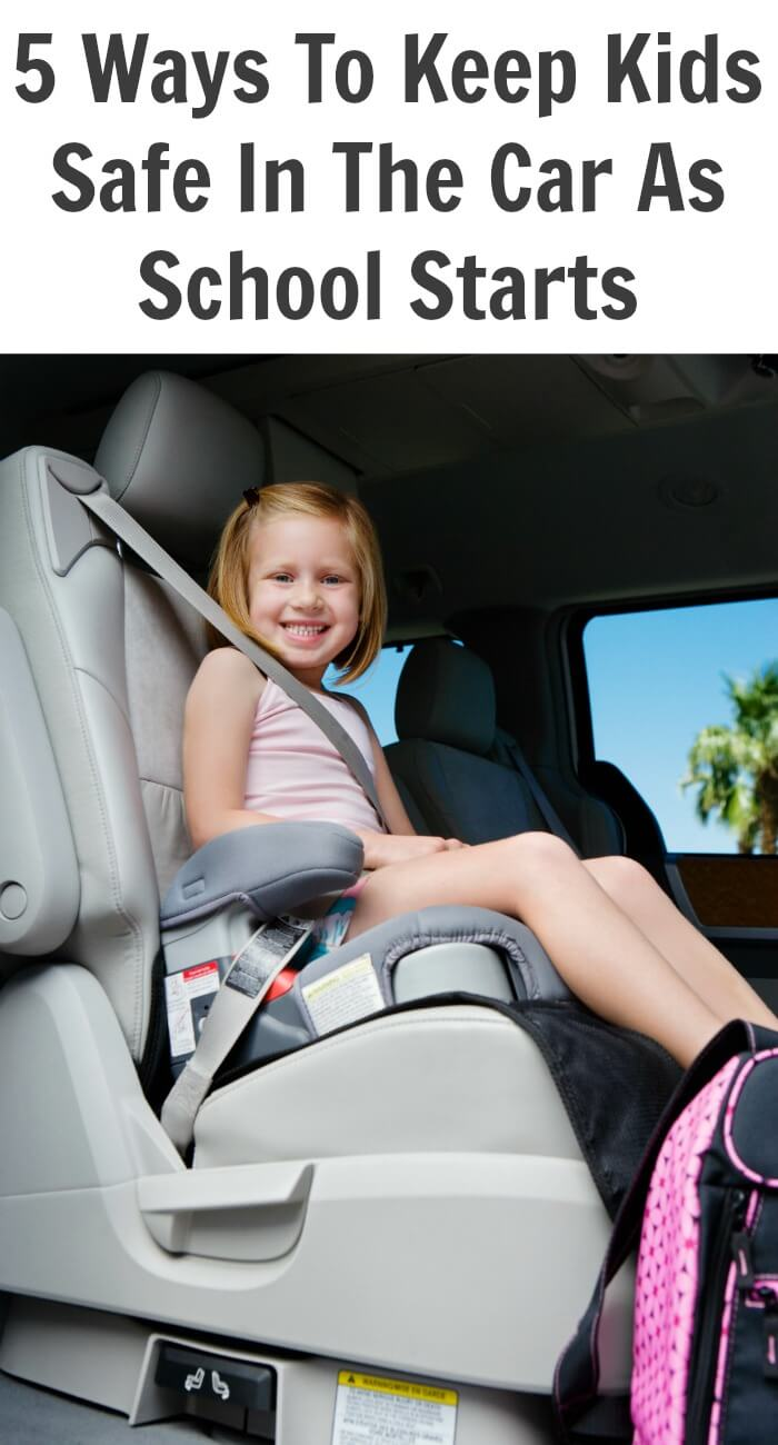 Keep Kids Safe In The Car As School Starts