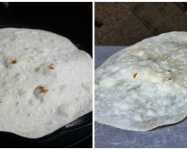 Authentic Homemade Flour Tortilla