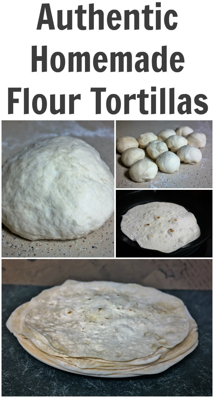 Authentic Homemade Flour Tortillas Recipe Taste Full Of Flavor