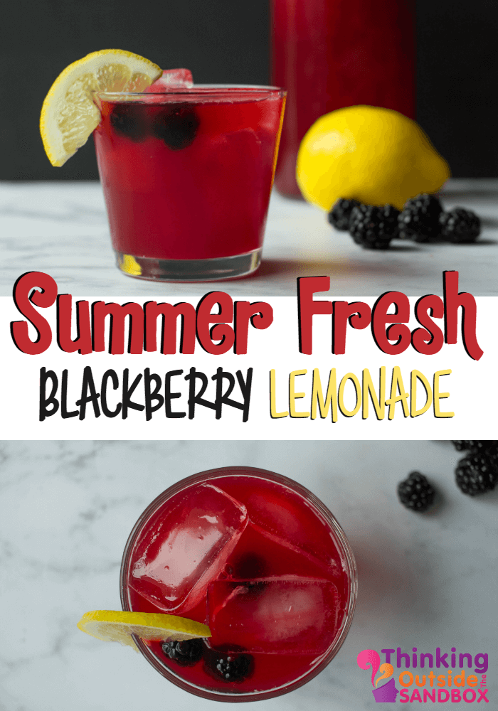 TOTS Family, Parenting, Kids, Food, Crafts, DIY and Travel Blackberry-Lemonade-TOTS How to Make Blackberry Lemonade Drinks Food Miscellaneous Recipes TOTS Family  recipe lemonade drinks drink Blackberry Lemonade