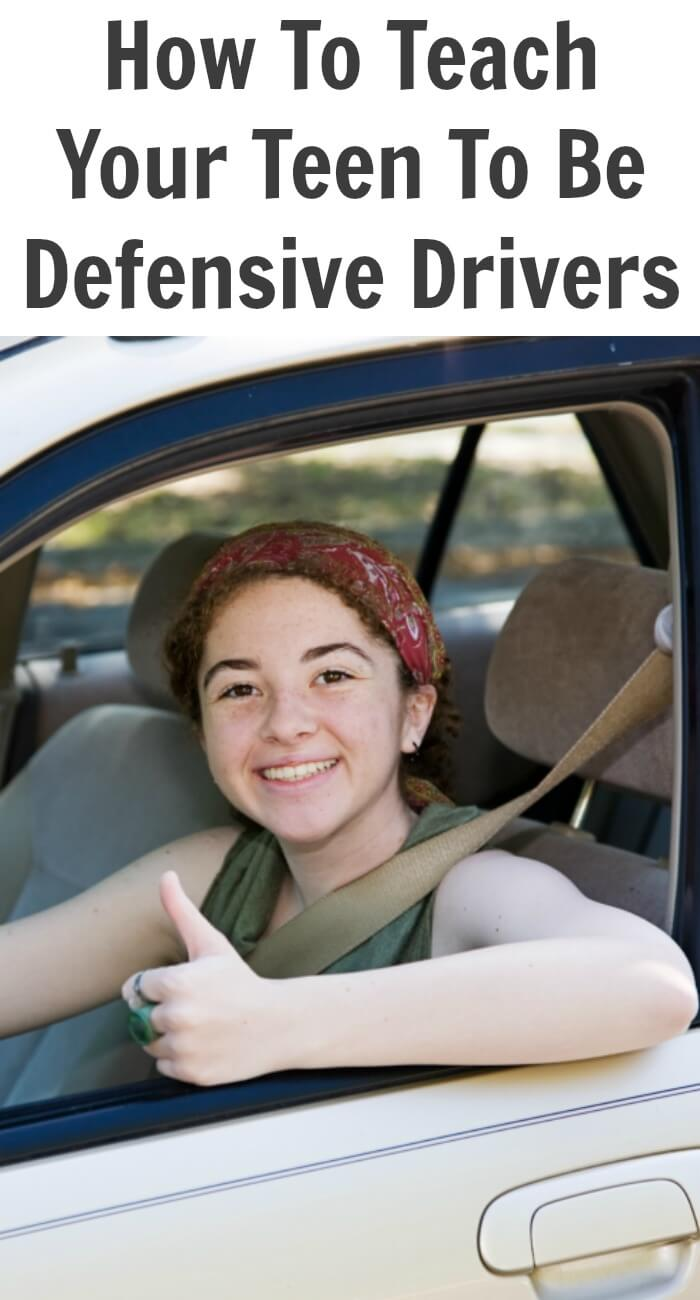 To drive defensively means you learn to avoid accidents so read on to learn how to teach your Teen to be a defensive driver.