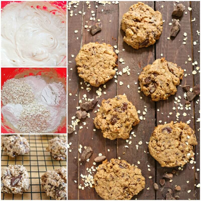 TOTS Family, Parenting, Kids, Food, Crafts, DIY and Travel Oatmeal-Chocolate-Chunk-Cookies-FB-collage Oatmeal Chocolate Chunk Cookie Recipe Desserts Food TOTS Family  recipe oatmeal cookies oatmeal chocolate cookies cookies