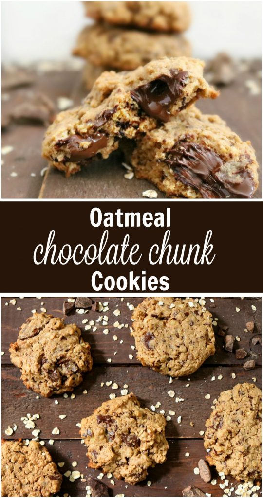 TOTS Family, Parenting, Kids, Food, Crafts, DIY and Travel Oatmeal-Chocolate-Chunk-Cookies-Pin-540x1024 Oatmeal Chocolate Chunk Cookie Recipe Desserts Food TOTS Family  recipe oatmeal cookies oatmeal chocolate cookies cookies
