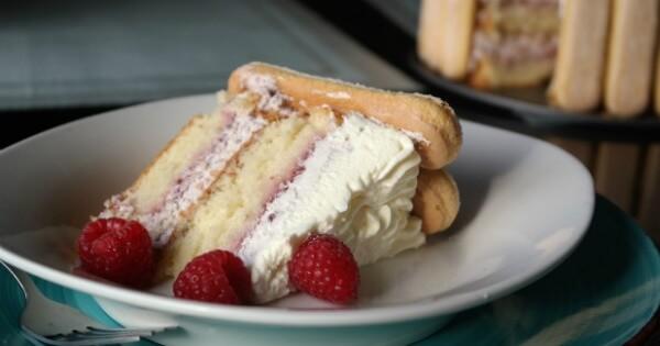 Raspberry Charlotte Cake Recipe