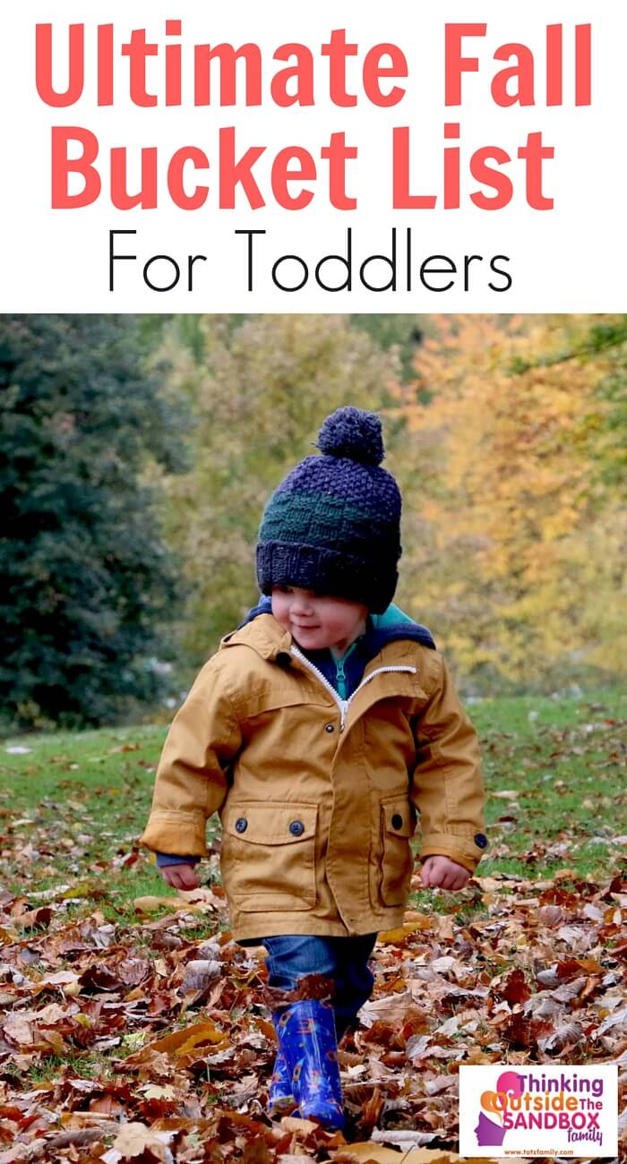 TOTS Family, Parenting, Kids, Food, Crafts, DIY and Travel Ultimate-Fall-Bucket-List-for-Toddlers Ultimate Fall Bucket List for Toddlers Crafts Parenting TOTS Family Uncategorized  toddlers toddler family fall bucket list activities