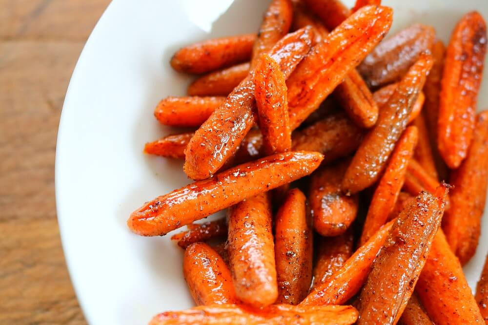 TOTS Family, Parenting, Kids, Food, Crafts, DIY and Travel carrots-horizontal- Honey Glazed Oven Roasted Carrots Recipe Food Miscellaneous Recipes Side Dish TOTS Family Uncategorized  Side Dish Oven Roasted Carrots Honey Glazed Carrots
