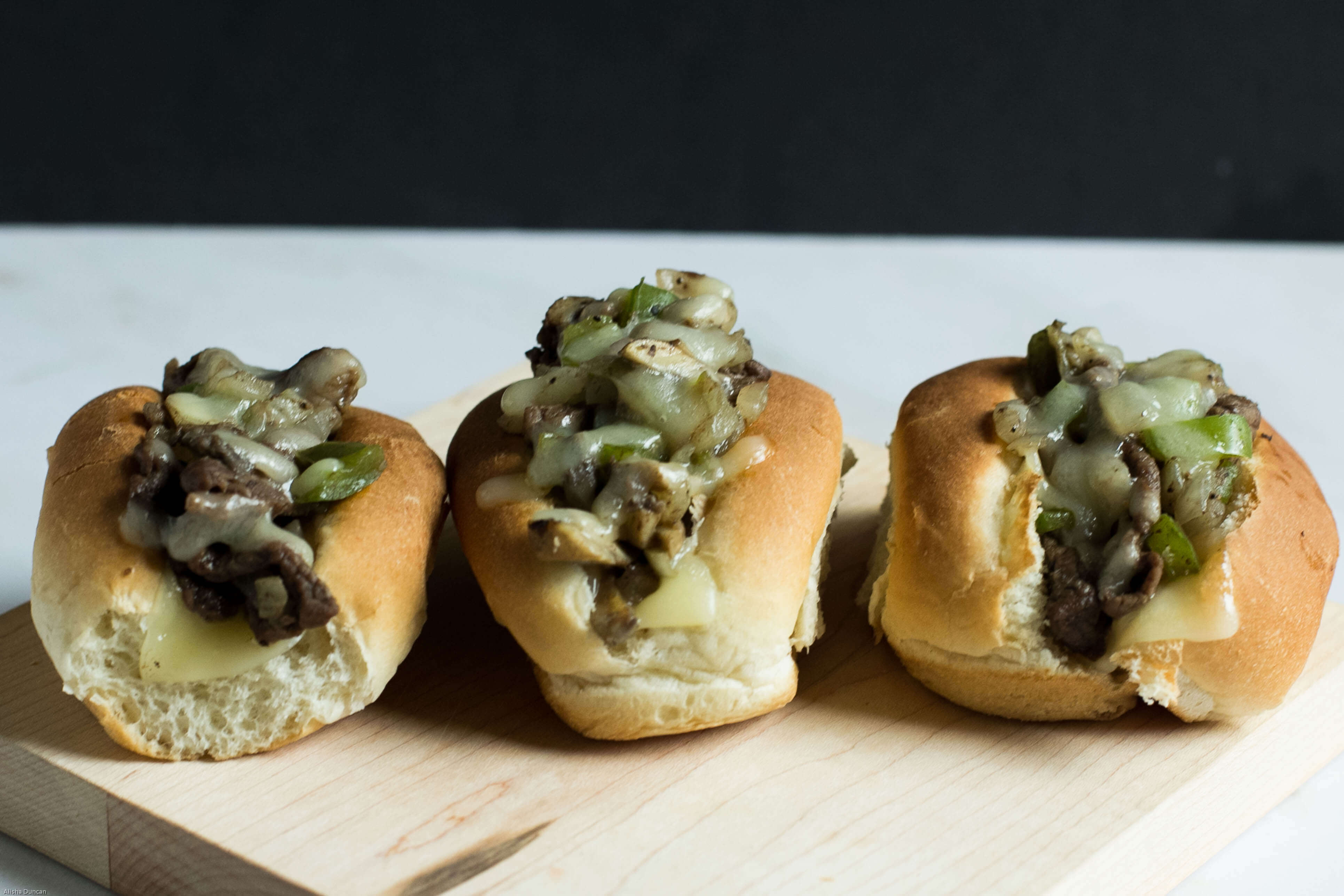 Mini Philly Cheesesteak Sandwich Recipe