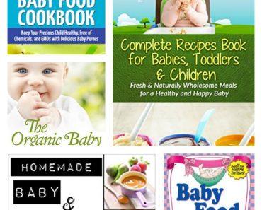 5 FREE Baby Food Recipe eCookbooks