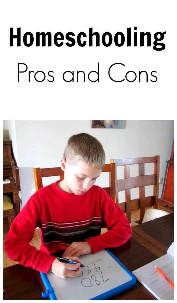 the pros and cons of home schooling