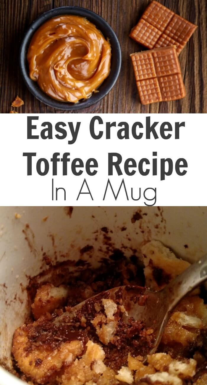 TOTS Family, Parenting, Kids, Food, Crafts, DIY and Travel Easy-Cracker-Toffee-Recipe-In-A-Mug Easy Cracker Toffee Recipe In A Mug Desserts Food TOTS Family  toffee cracker toffee