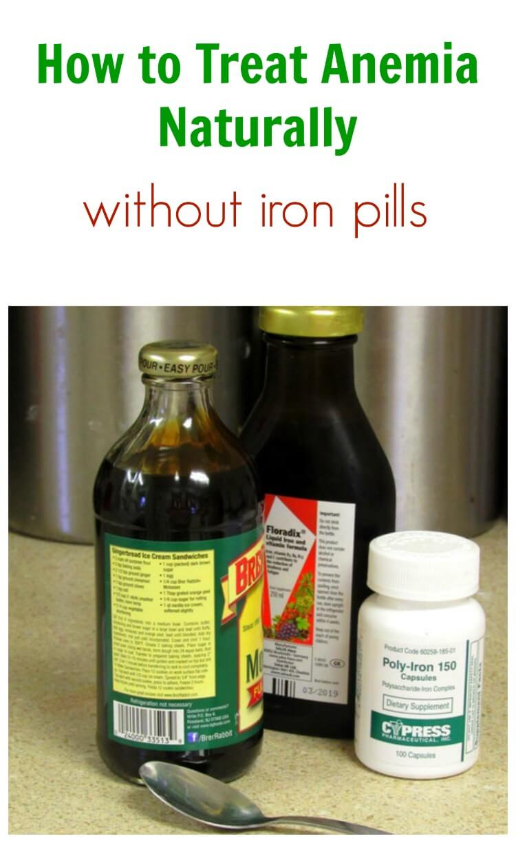 Treating Anemia Naturally, Without Iron Pills
