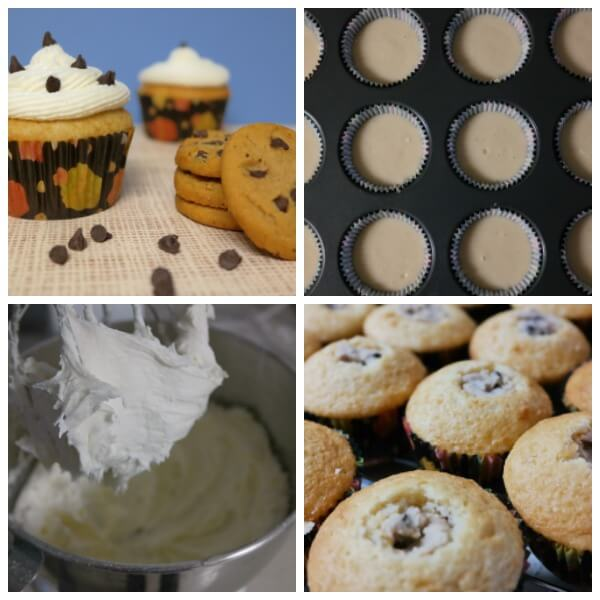 TOTS Family, Parenting, Kids, Food, Crafts, DIY and Travel Chocolate-Chip-Cookie-Dough-Cupcake-Recipes Chocolate Chip Cookie Dough Cupcake Recipe Desserts Food Kids TOTS Family  treat snack no egg cookie dough kids dessert cupcakes cookie dough chocolate chip cookie dough cupcakes